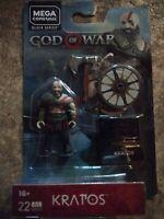 NEW MEGA CONSTRUX GOD OF WAR KRATOS MINI FIGURE SEALED GNV37 Awesome Mini