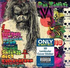 Rob Zombie Electric Warlock Acid Witch Satanic Orgy Celebration w/ 3d best buy