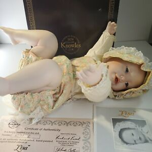 Yolanda Bellos Doll Lisa Picture Perfect Babies Knowles Ashton Drake autographed