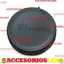TAPA TRASERA  Nikon 1 Mount N1 J1 J2 J3 J4 J5 V1 V2 S1 PARA OBJETIVOS  LENS CAP