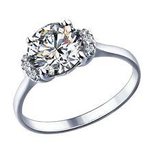 MIRKADA Damen 925 Sterling Silber Ring mit SWAROVSKI Zirkonia Gr. 52 * NEU *