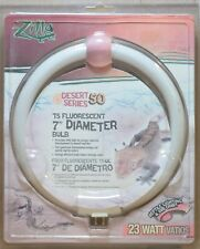 "Zilla Desert Series 50 T5 Fluorescent 7"" Diameter (Round) 23w UVB Bulb"