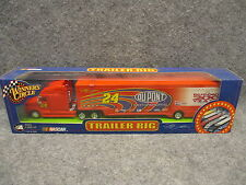 2002 Jeff Gordon 24 Dupont Nascar Trailer Rig Winner's Circle 1:64 No. 30255
