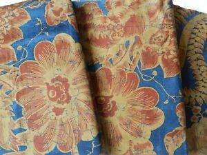 Ralph Lauren Indigo Bali floral pillowcases 65*65
