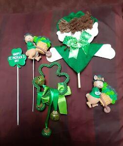 Lot Cute Vintage St Patrick's Day Decorations 1 Handmade St Patty's Irish Pride