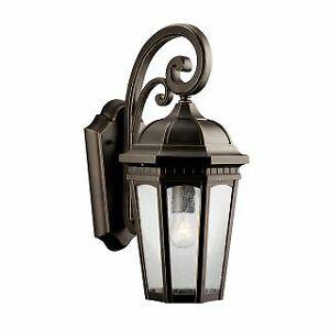 Kichler 9033RZ - Wall Sconces Outdoor Lighting