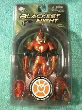 "LARFLEEZE  ""The"" Orange Lantern Blackest Night Series DC Direct figure not mint"