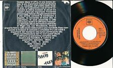 """COMPIL 45 TOURS 7"""" ITALY PROMO THE BYRDS RASCALS JOHNNY WINTER HEAVEN"""