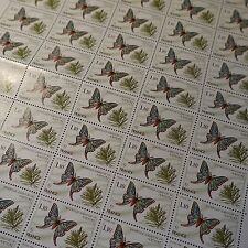 FEUILLE SHEET TIMBRE NATURE PAPILLON INSECTE N°2089 x50 1980 NEUF ** LUXE MNH