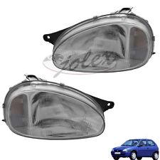 Scheinwerfer H4 elektrische LWR rechts+links Set Satz Paar Opel Corsa B / Combo