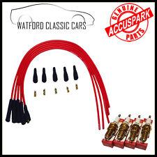 Accuspark MG Midget 1275 leads & fast road Spark plugs