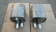 FERRARI 550 & 575M MARANELLO OEM, FACTORY ORIGINAL EXHAUST SYSTEM WITH END TIPS