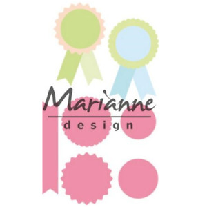 Marianne D Collectable Rosettes & labels COL1444, 381444