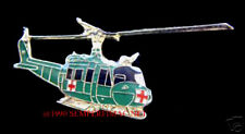 UH-1 HUEY MEDIVAC DUST OFF HAT HAT LAPEL PIN US ARMY HELICOPTER DOC NURSE CREW