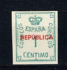 EMISIONES REPUBLICANAS  ALMERÍA  Edifil 1*   (cat. 10€)