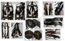 HEAVY Duty Team Saddle & Girth PONY Training WORK COB HORSE Cart Driving Harness