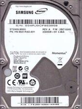 Hard disk interni momentus Interfaccia SATA per 2TB