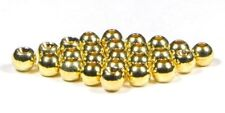 25, 50 or 100 x Gold Beads Brass Goldhead 2.3mm, 2.8mm, 3.3mm, 3.8mm Fly Tying