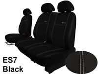 VAUXHALL VIVARO 2014 - 2019 ARTIFICIAL LEATHER TAILORED FRONT SEAT COVERS