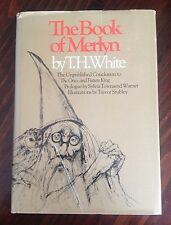 The Book of Merlyn by T. H. White (1977, Hardcover) Dustjacket EUC