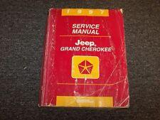 1997 Jeep Grand Cherokee Shop Service Repair Manual Book Laredo Limited Orvis