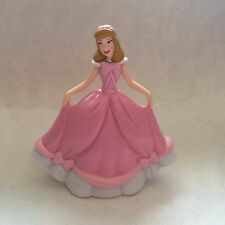 Disney Store Authentic Princess CINDERELLA FIGURINE Cake TOPPER PINK DRESS NEW