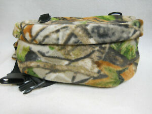 """Quiet FANNY PACK Camouflage Waterproof Lined Archery Hunting Photography 12"""""""