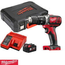 Milwaukee M18BPD-0 18v Combi Hammer Drill With 1 x 5.0Ah Battery, Charger & Case