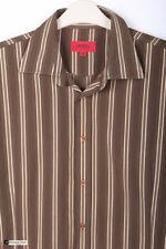 Ropa de hombre HUGO BOSS color principal marrón 100% algodón