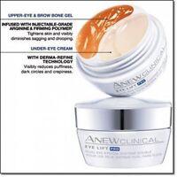 Avon Clinical Eye lift Pro Dual Eye System -Upper Eye Gel+Under Eye Cream