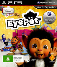 EyePet (Sony PlayStation 3, 2009) PS3 game requires PlayStation Eye USB camera