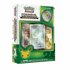 POKEMON XY MYTHICAL CELEBI COLLECTION BOX: GENERATIONS BOOSTER PACKS +PROMO CARD