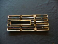 1968 Ford Galaxie XL hidden headlight grille bezel, LH, NOS! C8AB-13A137A