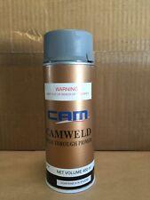 CAM Weld Through Zinc Primer Aerosol 400ML, Spray Can, Car Body Repair.