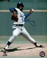 Al Downing Signed 8X10 Photo Autograph LA Dodgers Road Pitching Auto w/COA