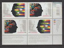 Canada 2004 Nobel Prize Winners Plate Block MNH