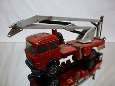 FORMA TOYS CELLA 3D FIAT 170 FIRE ENGINE  - RED 1:43 - BAD CONDITION - BARLUX
