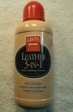 UNUSED Bottle Of GRIOT'S Garage 3-1 Leather Product Cleans Conditions Protects