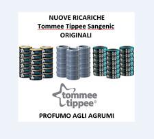 SANGENIC RICARICHE TIPPEE TEC TWIST & CLIC - ORIGINALI - NUOVO PROFUMO AGRUMI