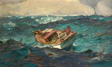The Gulf Stream by Winslow Homer 60cm x 36.2cm Canvas Print Nautical Wall Art