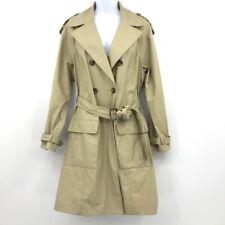 Vince Trench Coat Beige Khaki Women's Size Large