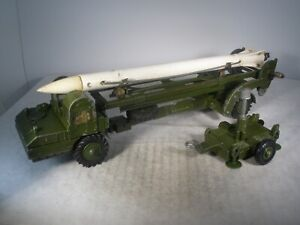 Dinky Toys Military Army CORPORAL MISSILE LAUNCHER #665