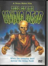 Hell of the Living Dead (DVD) aka VIRUS, ZOMBIE 2, NIGHT OF THE ZOMBIES w/insert