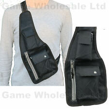 Anti-Theft Hidden Chest Security Shoulder Holster Cross Body - Passport Wallet