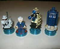 Lego Dimensions Dr. Who Tardis K-9  71204 71238 Battle damaged Dalek set lot