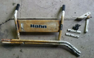 Roto Tiller Handle Bar Assembly Front Tine Hahn Ariens Gravely