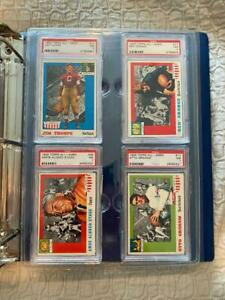 10 PSA Graded Card Clam Shell Display Holders - Ultra Rigid! Amazing for Display