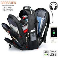 Laptop Backpack School Bag Waterproof Large Capacity  USB Port Multi Functional
