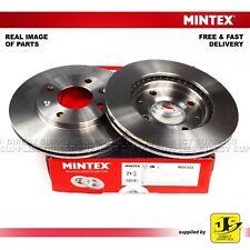 2X MINTEX FRONT DISC BRAKES MDC532 CITROEN PEUGEOT 106 205 206 206+ 306 309 I II