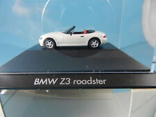 HERPA PRIVATE COLLECTION  BMW Z3 ROADSTER WEISS 1:87